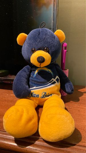 San Diego Chargers stuffed bear $5 for Sale in San Diego, CA
