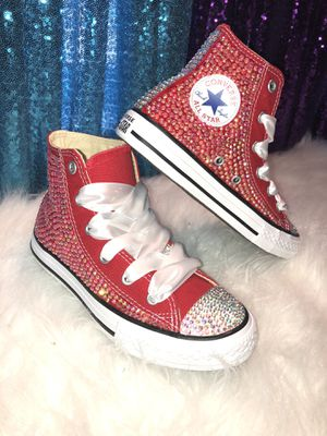 Blinged Converses for Sale in Burlington, NJ