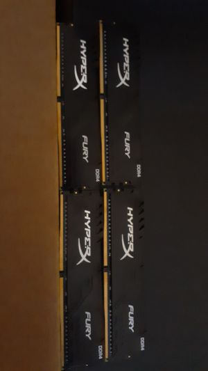 Hyperx fury 64Gb kit of 4 for Sale in Stockton, CA
