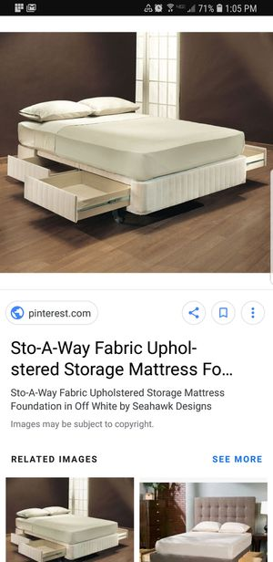 Stow-A-Way queen size mattress and box springs for Sale in Sebring, FL