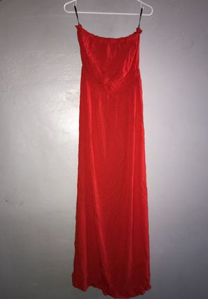 Red forever 21 long dress for Sale in Los Angeles, CA