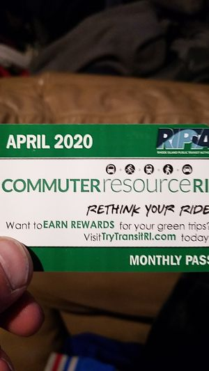 2 brand new April 2020 monthly bus passes for Sale in North Providence, RI