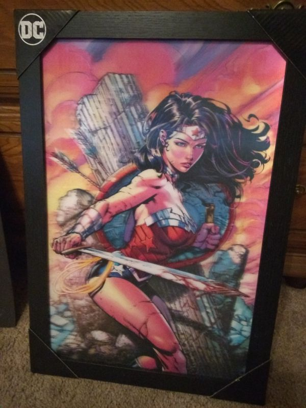 Wonder Woman Collectible Signs