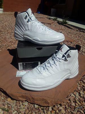 WORN ONCE JORDAN RETRO 12 RISING SUN SZ.12 OG BOX $320 for Sale in Las Vegas, NV