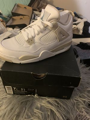 Jordan's 4 for Sale in Peoria, IL