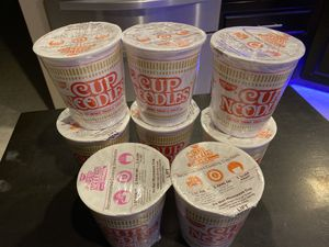 Expired cup noodles chicken and shrimp flavor for Sale in Springfield, VA