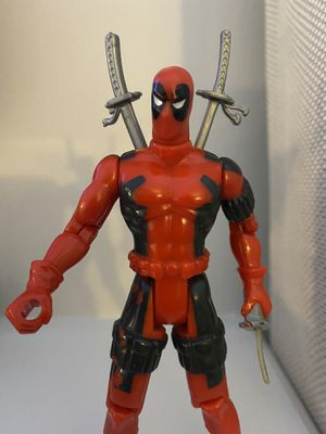 "Vintage 1992 Marvel Toy Biz X-Men X-Force Deadpool Action Figure 5"" for Sale in Fayetteville, NC"