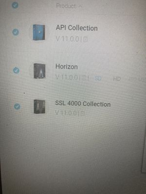 Waves Horizon Bundle, API Collection & SSL 4000 Collection for Sale in Philadelphia, PA