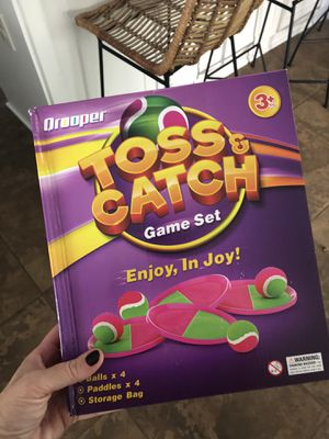 Toss and Catch game / toy for Sale in Carlsbad, CA