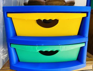 2 Drawer Storage Bin Container for Sale in Winchester, CA