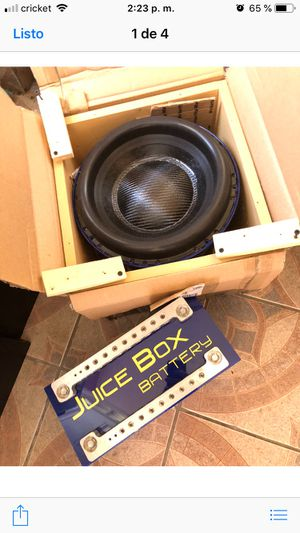 "Subwoofer 12"" tc sound for Sale in Chicago, IL"