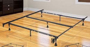 Adjustable bed frame. Twin - full for Sale in Tulsa, OK