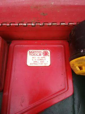 Matco vintage drill bit set for Sale in Belton, SC