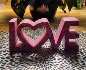 """""""LOVE""""BLOCK LETTER STANDING PLAQUE for Sale in Franklin Township, NJ"""