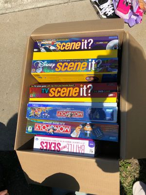 Board games for Sale in Hayward, CA