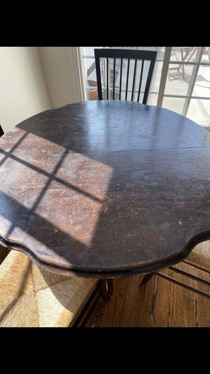 Antique expandable wooden table mesa antigu de madera real expandible for Sale in Los Angeles, CA