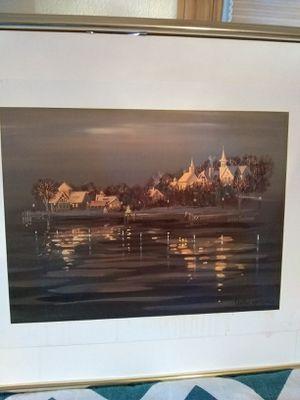 Original print signed for Sale in Minocqua, WI