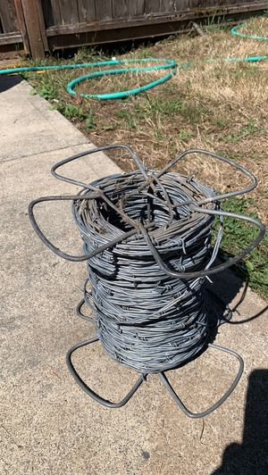 Barb wire 1/4 roll ready to go for Sale in Vancouver, WA