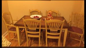 Kitchen table with 6 chairs for Sale in Alexandria, VA