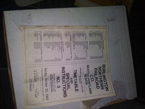 Burlington old tickets for Sale in Aberdeen, WA