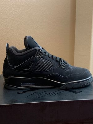 Air Jordan 4 Retro Black/Black for Sale in Sacramento, CA