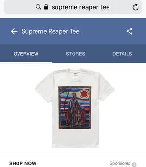 Supreme reaper tee for Sale in Hilliard, OH