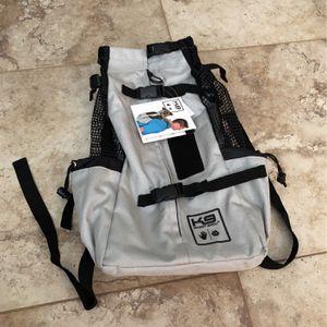 NEW K9 Sport Sack Dog Pet Carrier Backpack Medium Gray for Sale in San Diego, CA