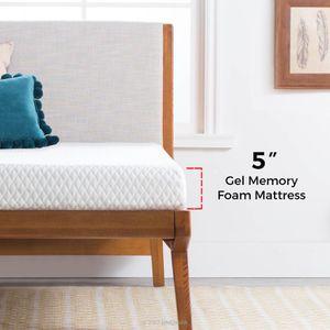 Brand New Twin Size Mattress 5 Inch Gel Memory Foam for Sale in Dunwoody, GA