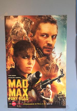 Mad Max Fury Road poster for Sale in Highland, MD