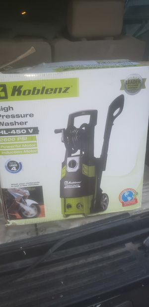 Koblenz Pressure Washer for Sale in St. Louis, MO