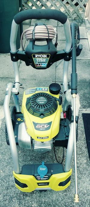 Pressure washer new Ryobi 3100 psi for Sale in Fort Lauderdale, FL