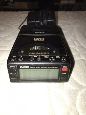 RARE CASIO DAT AUDIO RECORDER for Sale in Kennewick, WA