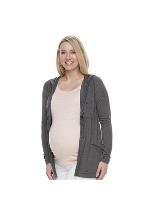 NWT Size Medium Maternity Zip Jacket w/ Hood Lightweight SHIPS NATIONWIDE for Sale in Miami, FL