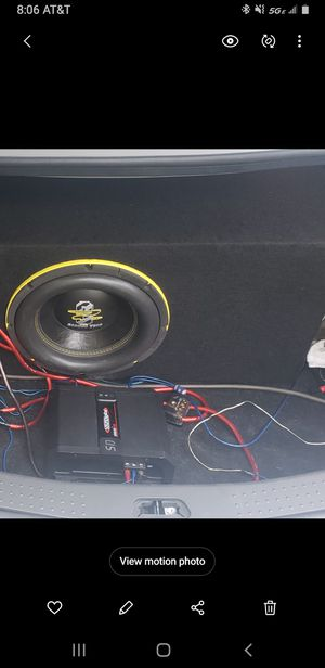 12inc subwoofer in amp for Sale in York, PA