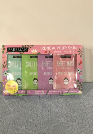 SHEET FACE MASK KIT for Sale in Macedonia, OH
