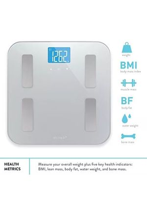 Digital Body Fat Weight Scale by Balance, Accurate Health Metrics, Body Composition & Weight Measurements for Sale in San Fernando, CA