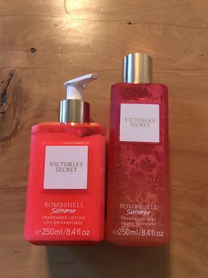 Victoria's Secret Bombshell Summer Fragrance Mist/Lotion Set for Sale in Gilbert, AZ