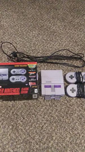 Super Nintendo Classic Edition for Sale in McDonough, GA