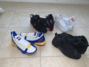 Jordans , lebron , nike for Sale in Poinciana, FL