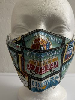 3D Face Mask Adults (Camping)-C72 for Sale in San Diego,  CA