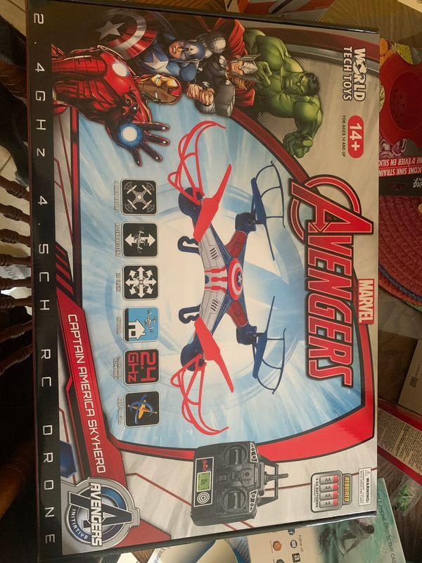 Captain America skyhero drone