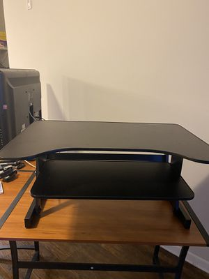 Standing Desk Monitor Riser With Keyboard Tray for Sale in Charlotte, NC