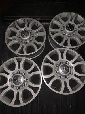 Ram rims and tires 275/70/r18 for Sale in Portland, OR
