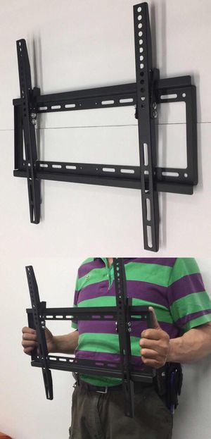 New in box 32 to 50 inches tilt tilting tv television wall mount bracket flat screen soporte de tv for Sale in San Dimas, CA