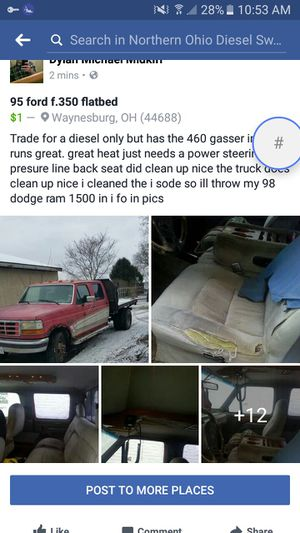 95 ford f350 for Sale in Waynesburg, OH