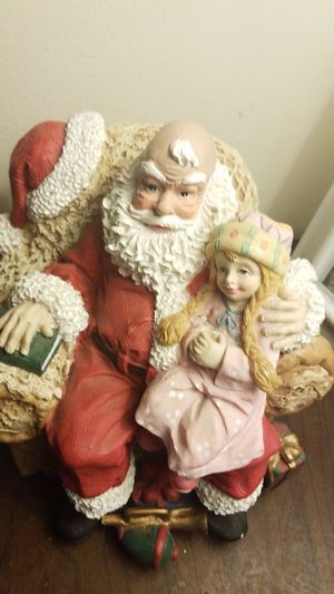 Santa Clause Holiday Statue & Music Player for Sale in Scranton, PA