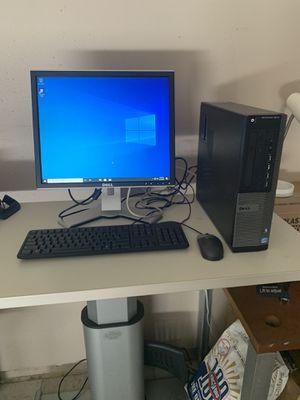 Dell computer windows 10 pro i5/8gb for Sale in Visalia, CA