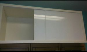 White Ikea Wall Unit Cabinet with sliding Door for Sale in Danvers, MA