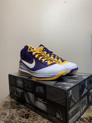 "Nike lebron 7 ""Media Day"" Size 8.5 New for Sale in Irving, TX"