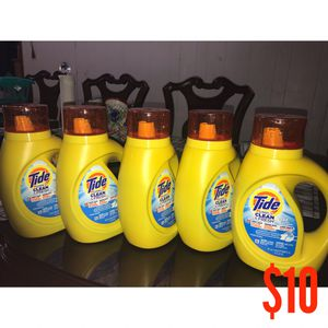 Tide Laundry Detergent for Sale in Pasadena, TX